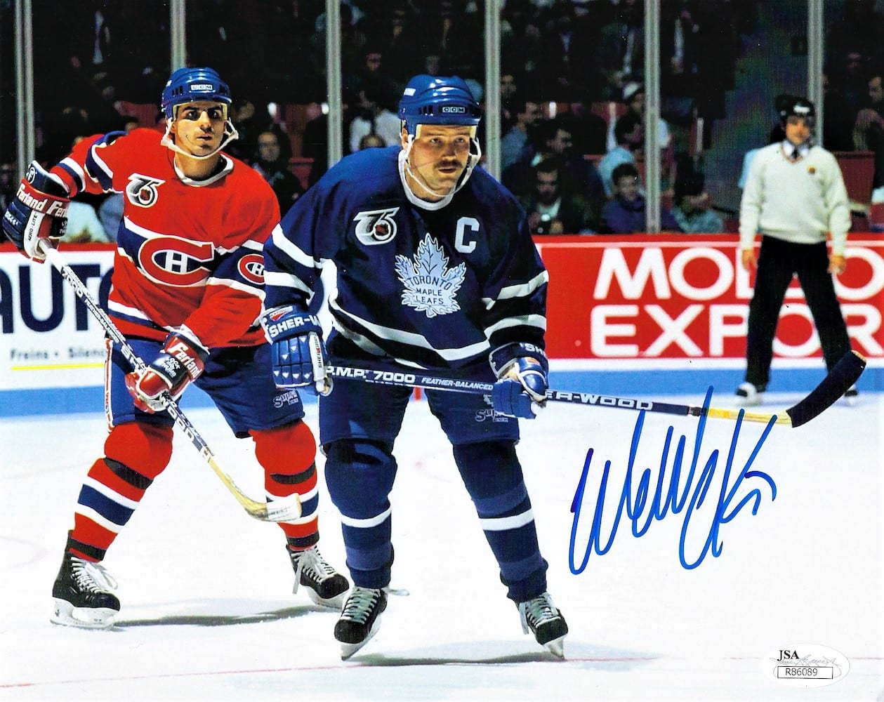 the latest 73315 5eba6 Wendel Clark Autographed Toronto Maple Leafs 8x10 Photo