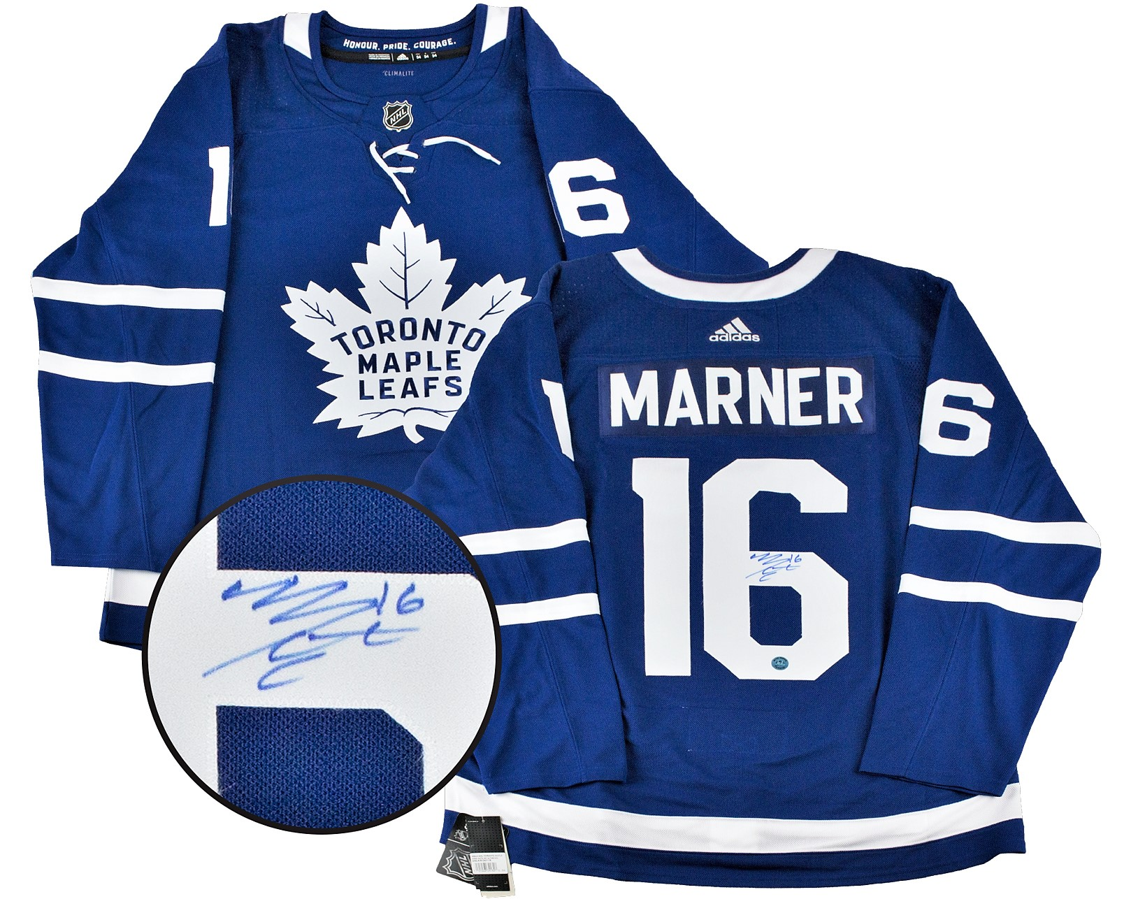 buy popular 4356c e9cde Mitch Marner Autographed Toronto Maple Leafs Jersey